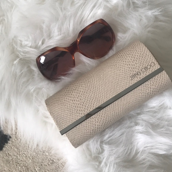 Jimmy Choo Accessories - Jimmy Choo sunglasses with case
